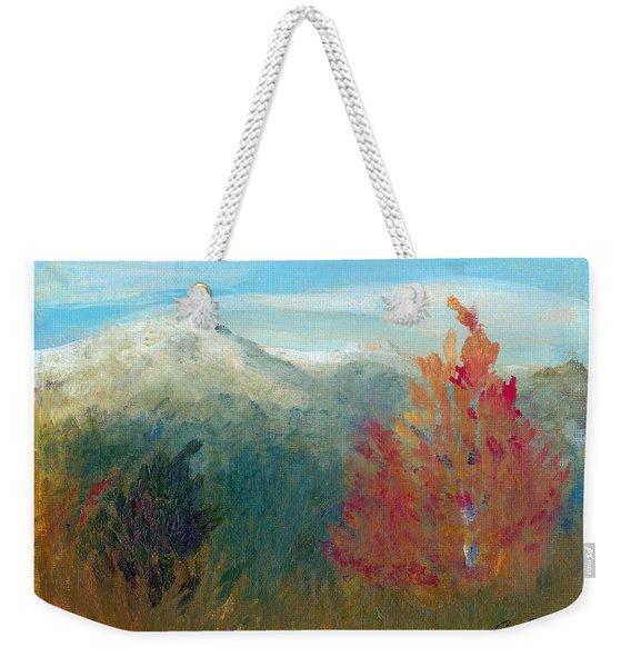 High Country View Weekender Tote Bag