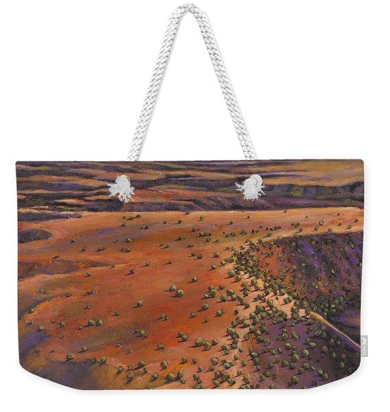 High Desert Evening Weekender Tote Bag