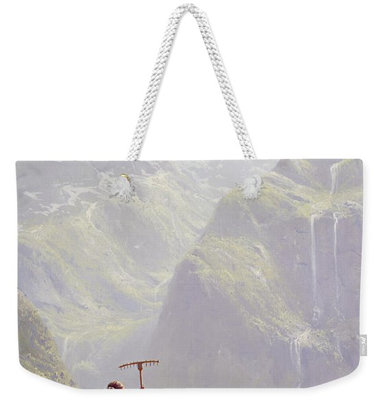 High In The Mountains Weekender Tote Bag