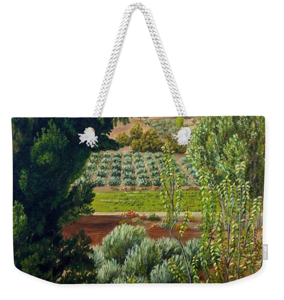 High Mountain Olive Trees  Weekender Tote Bag