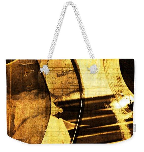 High On Music Weekender Tote Bag
