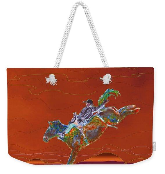 High Riding Weekender Tote Bag