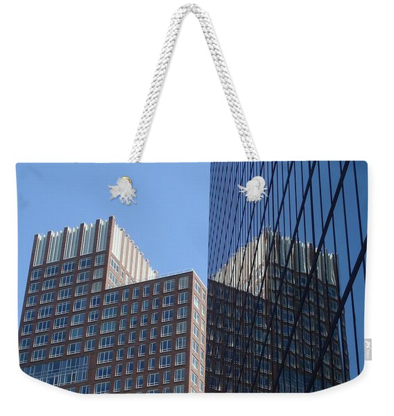 High Rise Reflection Weekender Tote Bag