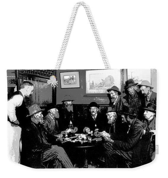 High Stakes Poker - 1913 Weekender Tote Bag