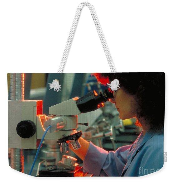 High Tech Look Weekender Tote Bag