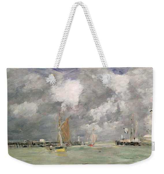 High Tide At Trouville Weekender Tote Bag