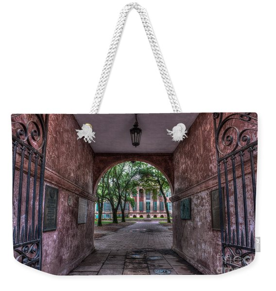 Higher Education Tunnel Weekender Tote Bag