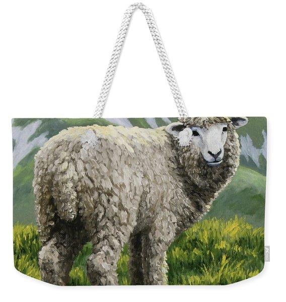Highland Ewe Weekender Tote Bag