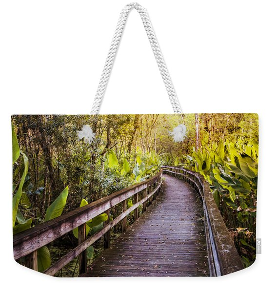 Highlands Hammock Walk Weekender Tote Bag