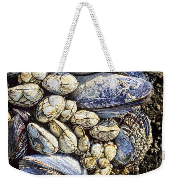 Highly Populated Weekender Tote Bag