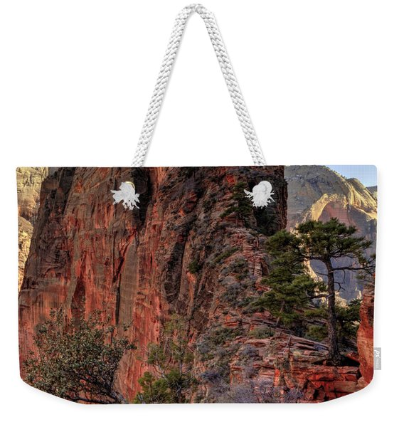 Hiking Angels Weekender Tote Bag