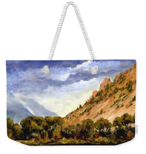 Hills Of Jackson Wyoming Weekender Tote Bag