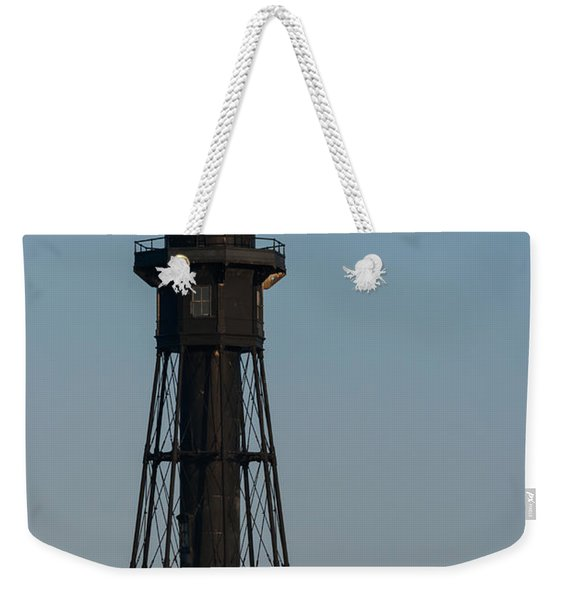 Hillsboro Inlet Lighthouse In The Evening Weekender Tote Bag