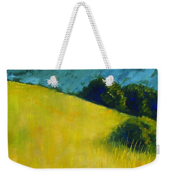 Hillside Prairie Weekender Tote Bag