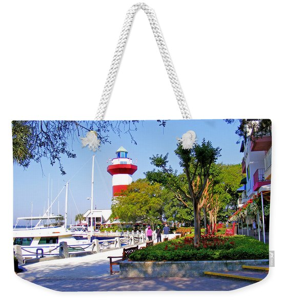 Hilton Head Lighthouse Weekender Tote Bag