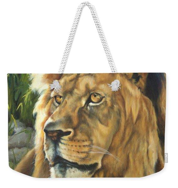 Him - Lion Weekender Tote Bag