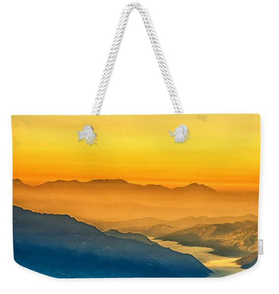 Himalaya In The Morning Light Weekender Tote Bag