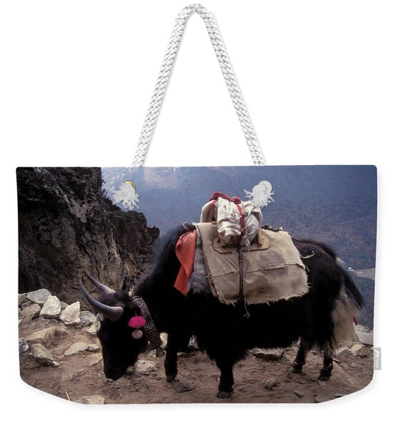 Himalaya Mountains Weekender Tote Bag