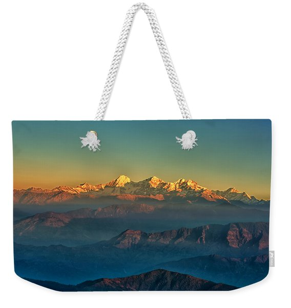 Himalaya Weekender Tote Bag