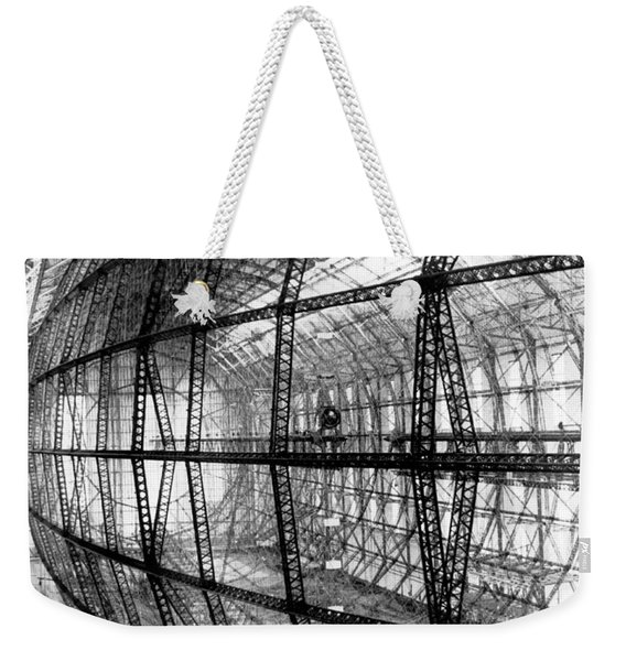 Hindenburg Construction Weekender Tote Bag