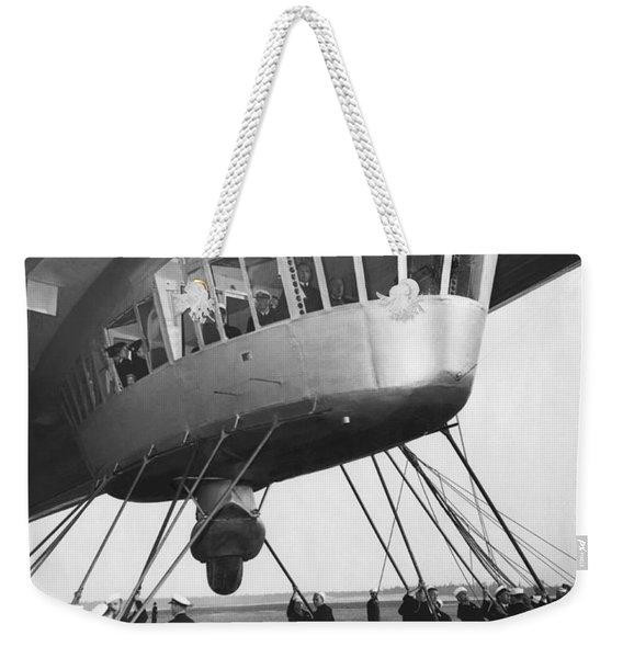 Hindenburg Control Room Weekender Tote Bag