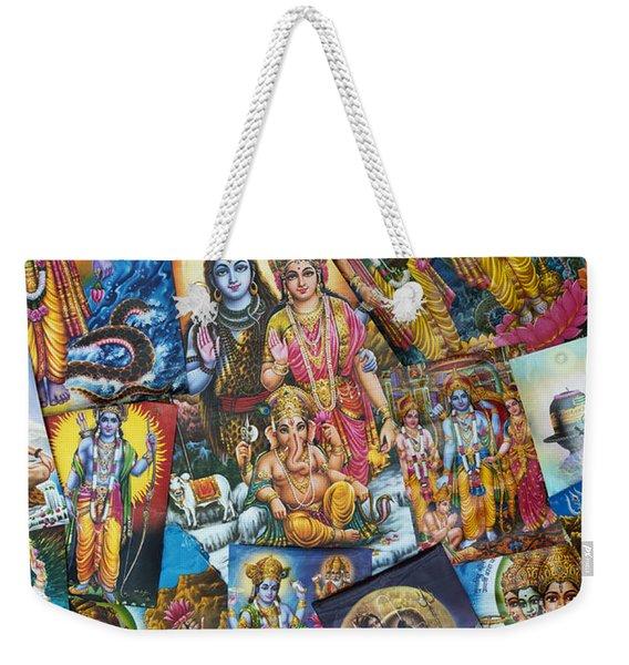 Hindu Deity Posters Weekender Tote Bag
