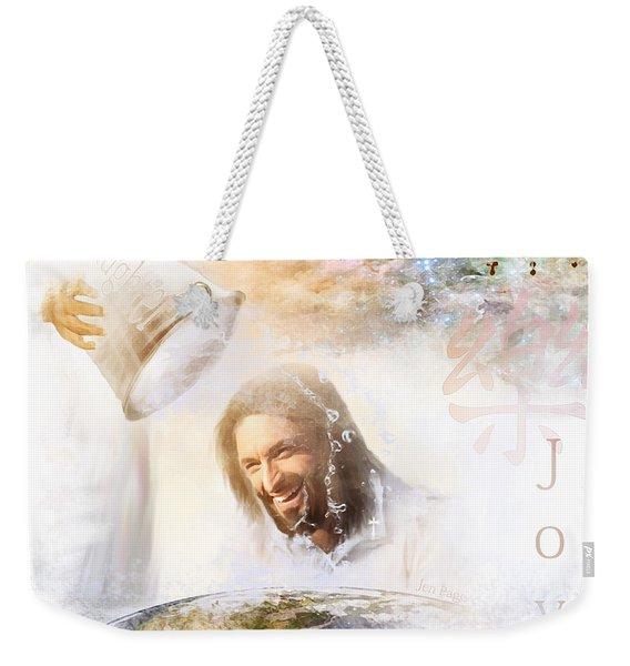 His Joy Weekender Tote Bag
