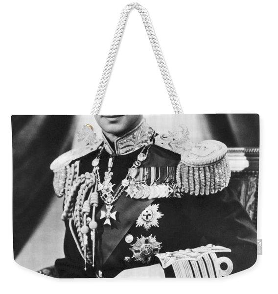 His Majesty King George Vi Weekender Tote Bag