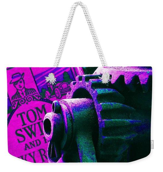 His Sky Racer... Weekender Tote Bag
