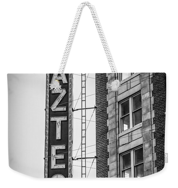 Historic Aztec Theater Weekender Tote Bag