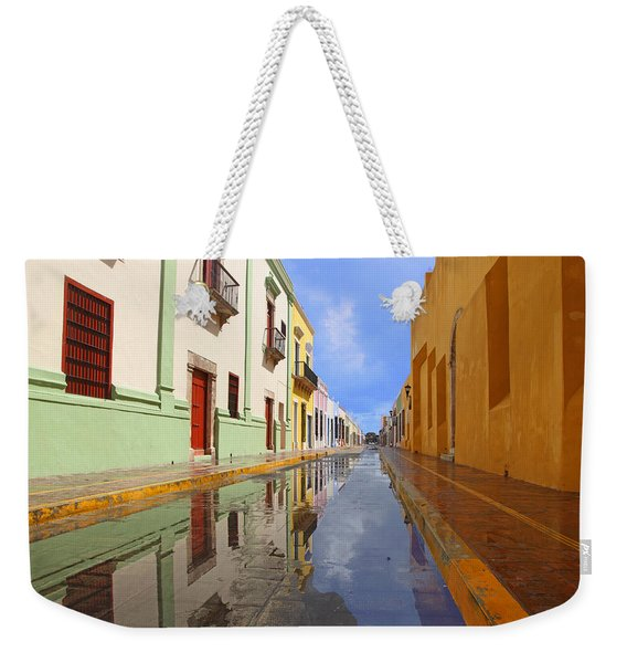 Historic Campeche Mexico  Weekender Tote Bag