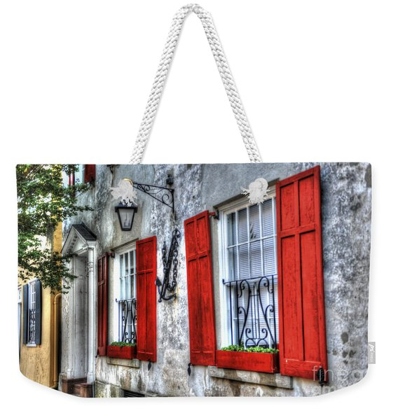 Historic Charleston Pirates House Weekender Tote Bag