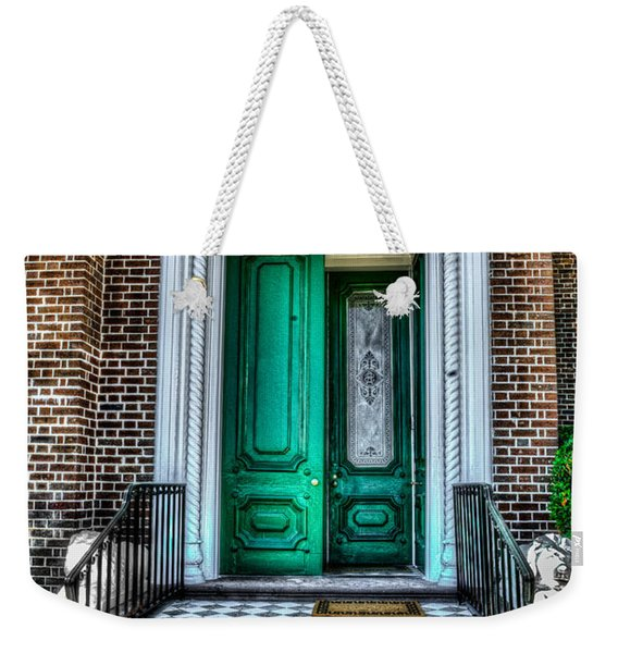 Historic Charleston Sc Door Weekender Tote Bag