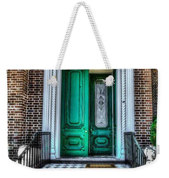 Historic Charleston Sc Door Weekender Tote Bag
