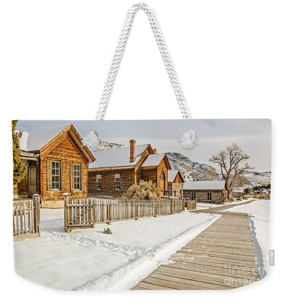 Historic Ghost Town Weekender Tote Bag