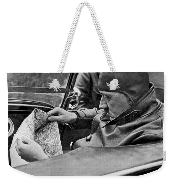 Hitler Studies Road Map Weekender Tote Bag