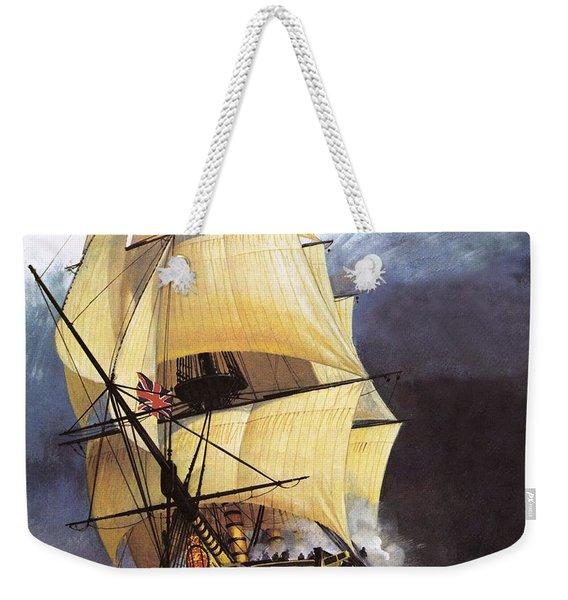 Hms Victory Weekender Tote Bag