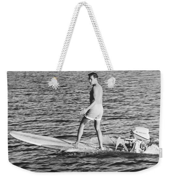 Hobie Alter Surfboard Motor Weekender Tote Bag