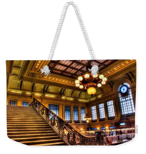 Hoboken Terminal Weekender Tote Bag