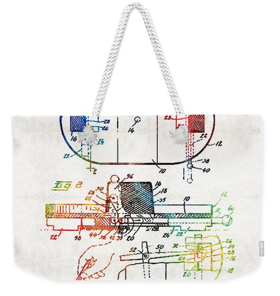 Hockey Art - Game Board - Sharon Cummings Weekender Tote Bag