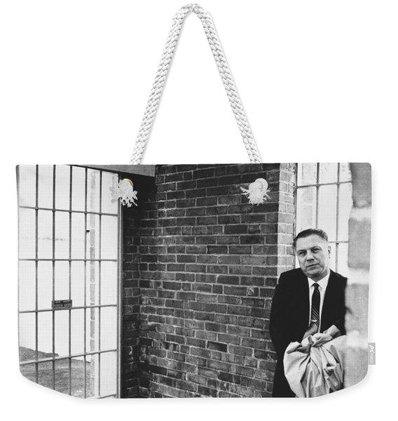 Hoffa Enters Federal Prison Weekender Tote Bag