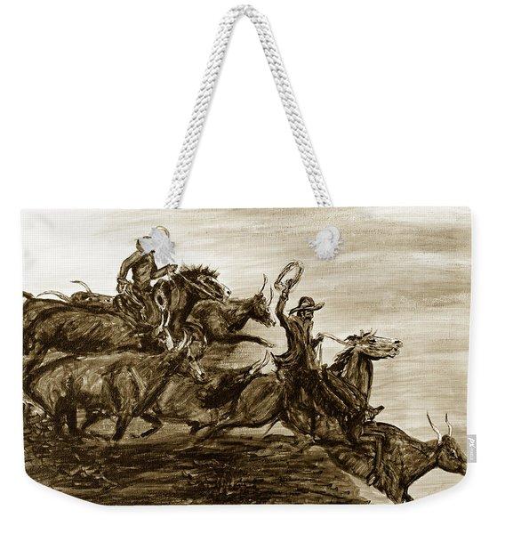 Hol-ly Cow Weekender Tote Bag