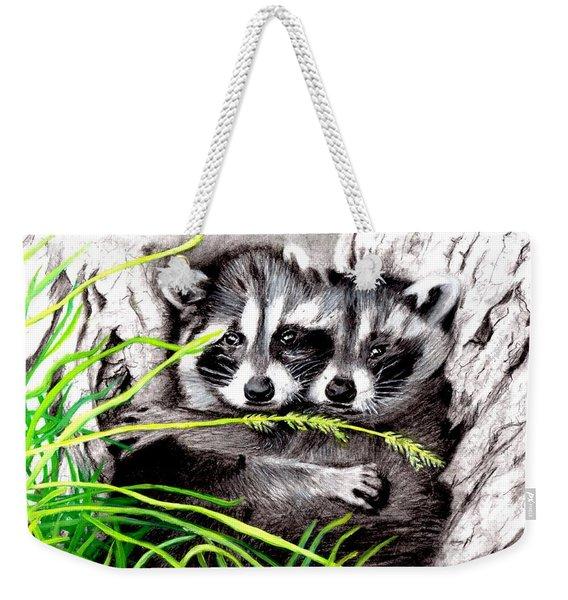 Hold Me Tight  Weekender Tote Bag