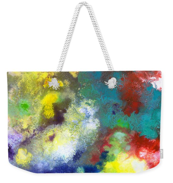 Holding The High Watch Canvas Two Weekender Tote Bag