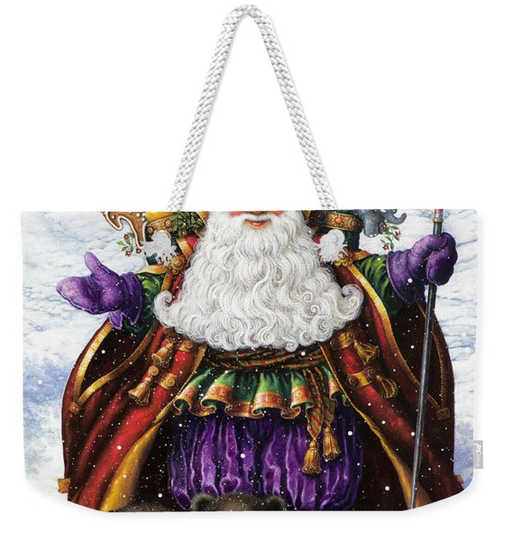 Holiday Riches Weekender Tote Bag