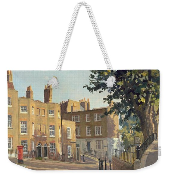Holly Hill, Hampstead Oil On Canvas Weekender Tote Bag
