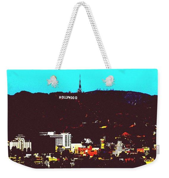 Hollywood Weekender Tote Bag