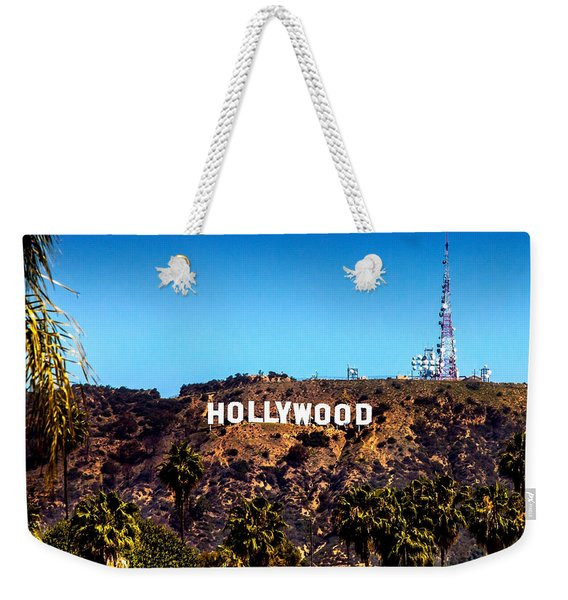 Hollywood Sign Weekender Tote Bag