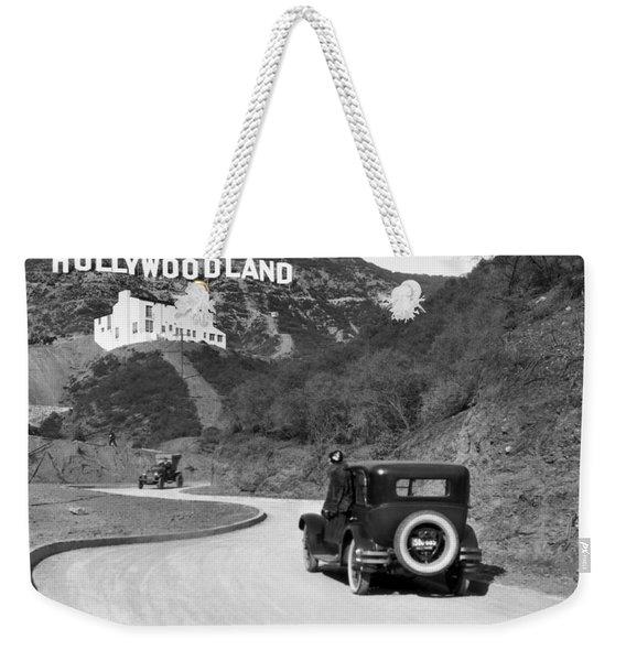 Hollywoodland Weekender Tote Bag
