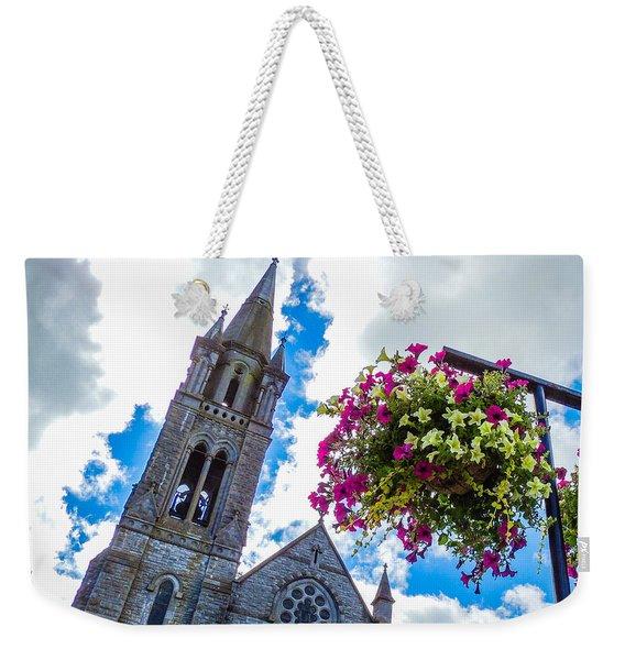 Holy Cross Church Steeple Charleville Ireland Weekender Tote Bag
